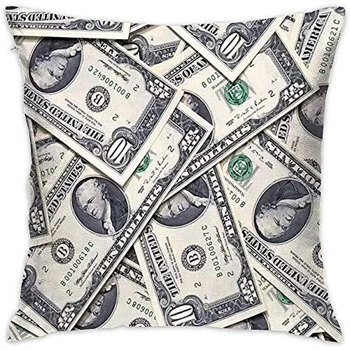 Eunice Cowper Kissenbezüge US-Dollar Bill Money Dekorative Platz Dekokissen Cover Kissenbezug Sofa Durable Modern Stylish Polyester -