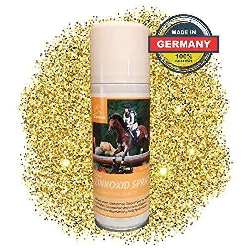 EMMA® Zink Spray für Pferd & Hunde I Wundspray Wundverband I Silberspray optimale Wundversorgung I Atmungsaktiv für Tiere 200ml