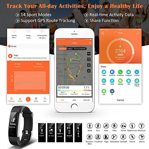 Zoom IMG-2 mpow orologio fitness tracker activity