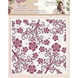#5: Crafters Companion Embossing Folder - Floral Swirls