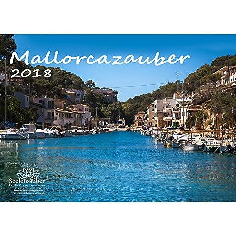 Premium Kalender 2018 · DIN A4 · Mallorcazauber · Mallorca · Urlaub · Meer · Edition (Bewertung Wasser)