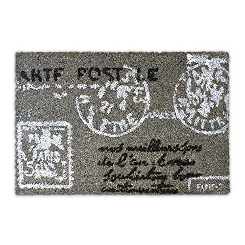 Felpudos Entrada de Casa con diseño de carta postal para la entrada d