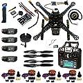 FEICHAO DIY RC Drone Full Kit S600 Frame kit PIX 2.4.8 Flight Control with FS-i6 Transmitter