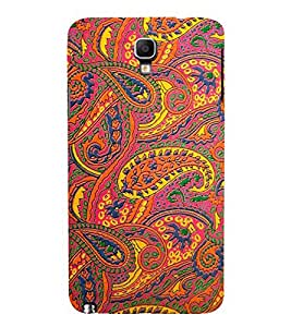 FUSON Vintage Flower Pattern Background 3D Hard Polycarbonate Designer Back Case Cover for Samsung Galaxy Note 3 :: Samsung Galaxy Note Iii :: Samsung Galaxy Note 3 N9002 :: Samsung Galaxy Note 3 N9000 N9005