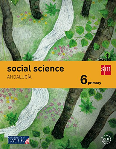 Social science. 6 Primary. Savia. Andalucía - 9788416346363