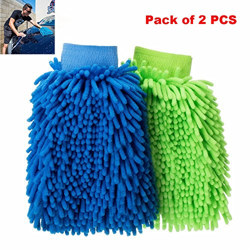 car-wash-mitts-2-pcs-waterproof-premium-microfiber-chenille-super-absorbent-wash-and-wax-glove