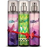 Layer'r Wottagirl Body Splash Gift Set Combo For Women Pack of 3 -Secret Crush, Spellbound, Amber Kiss Body Splash 135ml