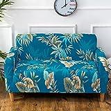 Fastar Housse de fauteuil Canapé en Polyester Extensible avec accoudoir 2 place, Revêtement de Canape