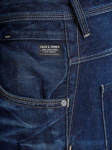 JACK & JONES Herren Jeanshose Blau