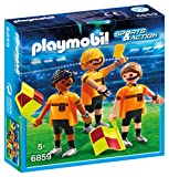 Playmobil 6859 - Arbitro e Guardalinee, Multicolore