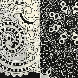 Juego de funda nórdica y funda de almohada, diseño de rayas y floral marca Just Contempo