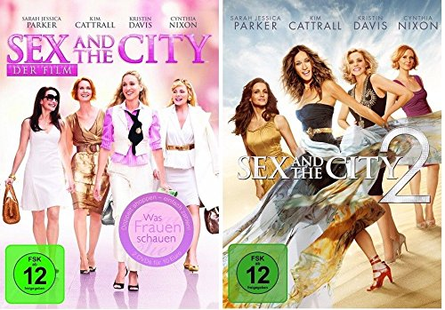 Sex and the City Teil 1+2 [DVD Set] Die Kinofilme
