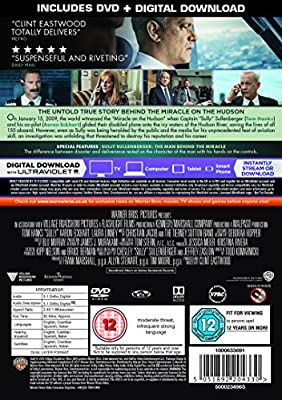 Sully: Miracle On The Hudson [DVD + Digital Download] [2017] : everything 5 pounds (or less!)
