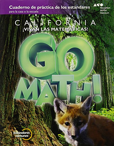 Go Math! Spanish: Standards Practice Book Grade 3