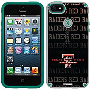 Coveroo CandyShell Cell Phone Case for iPhone 5/5s - Texas Tech Repeating