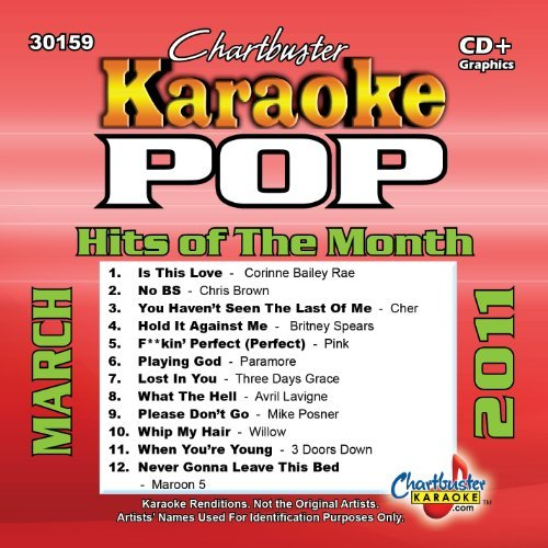Karaoke: Pop Hits of the Month March 2011 by Various Artists (2014-08-03)