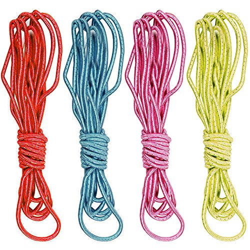 com-four-hpfgummiset-gummitwist-3m-lnge-je-band-4-verschiedene-farben-4er-set