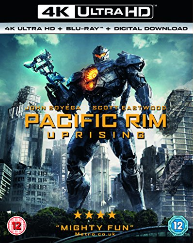 Pacific Rim Uprising (4KUHD and Blu-Ray Plus Digital Download)