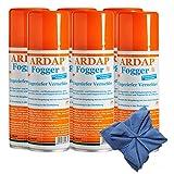 6 x 200 ml Ardap FOGGER Ungeziefer Vernebler gegen Insekten + Microfasertuch
