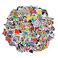 Xpassion Car Stickers Pack Cool Bumper Decal Sticker for Laptop Macbook Motorcycle Bicycle Luggage Graffiti Patches Skateboard Snowboar iPhone PS4 Xbox One Nintendo Switch and more (300pcs)