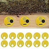 Kit 12x porte controllo accesso protezione alveare arnie 68mm apicoltura api