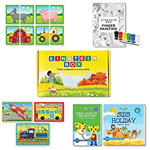 Einstein Box Complete Learning Set for 2 Year Old Boys and Girls- Multicolour