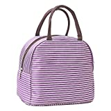 Best Simple Lunch Boxes - Wocharm Women Girl Men Zipper Lunch Boxes Tote Review