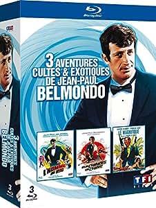 3 films cultes de Belmondo - Les tribulations d'un chinois en Chine + L'homme de Rio + Le magnifique [Blu-ray]