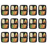 Preparazione dei pasti Homgeek con 15 confezioni, solo per 1 settimana, sono BPA libero, ideale per la preparazione dei pasti, scatole di pranzo, snack, feste, pic-nic, viaggi, rimane e molto altro ancora! VANTAGGIO: perfetto set: Questa 15er...