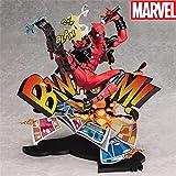 Action Figure Deadpool Doll Avengers Doll Toy Scene Statue Home Car Decorazione Regalo - 24cm A