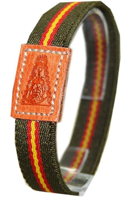 Pulsera Virgen del Rocio España ZAMACK 14 cm: Amazon.es: Zapatos y complementos