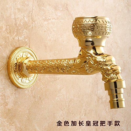 Preisvergleich Produktbild LppkzqCopper Dragon antiken Waschmaschine tippen Sie auf tippen Sie auf Tippen Sie auf Typ verlängert Mops im Europäischen stil gold Armaturen, B