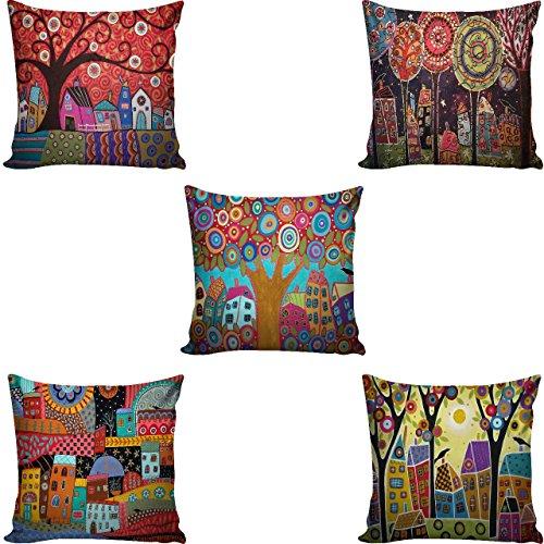 Ab Home Decor cushion cover set of 5 16x16