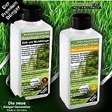 Rasen-Dünger HIGHTECH Dünger NPK+ Eisen flüssig für perfekten Rasen