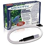 Aquality Premium mulm Auger Boden Detergente 2m (Torno perfetto sporco e mulm AUS Dem base inferiore e ghiaia nell' acquario–Semplice e innovativo in der applicazione–La perfetta la cura dell' acqua)