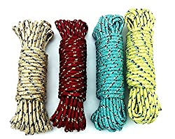 Olrada10 Meter Nylon Clothesline Rope (Color May Vary)