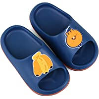 Kid's Non-Slip Slide Sandals Girls Cute Summer Sliders Toddlers Beach and Pool Shoes Bathroom Slippers for Children