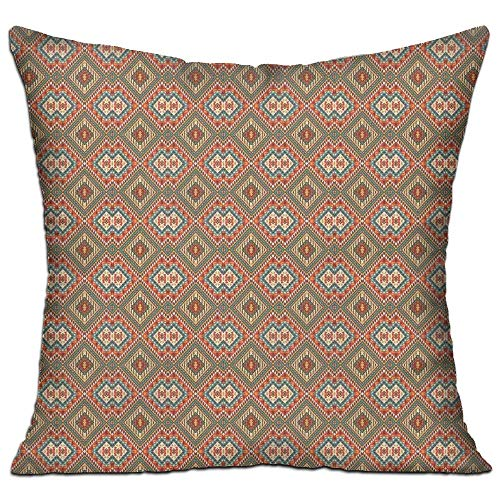 tgyew Native American Ancient Culture Elements Ethnic Asian Style Old Fashioned Motif Pattern Decorative Bedroom Decor Throw Pillow Cover 18