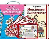 Telecharger Livres Lot filme Anniversaire Max et Lili mon journal d anniversaire pochette autocol 100 anniv prime (PDF,EPUB,MOBI) gratuits en Francaise
