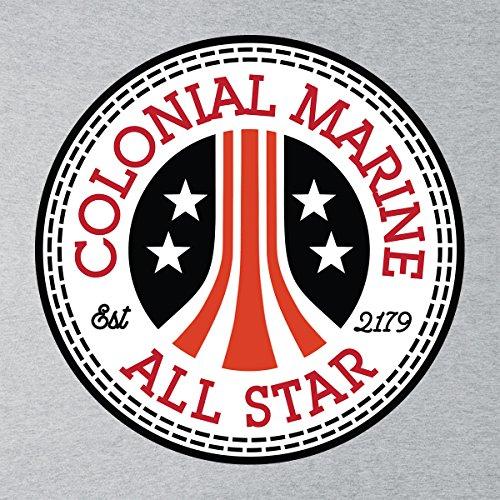 Colonial Marine Alien All Star Converse Logo Men's Vest Heather Grey