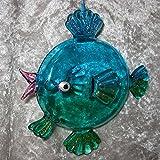 Unbekannt Dekorativer Anhänger Glas Fisch Glasfisch Fische