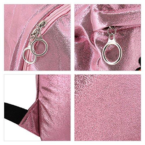 Novias Boutique Frauen Mädchen Casual Rucksack Reise Umhängetasche Schultasche Daypack (Pink) rose