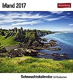 Irland - Kalender 2017: Sehnsuchtskalender, 53 Postkarten
