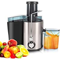 500ML Machine centrifuge de jus de fruits et légumes, Centrifugeuse Fruits et Légumes, Extracteur centrifuge de jus…