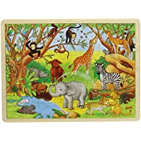 Goki 57892 48pc(s) puzzle - Puzzles (Jigsaw puzzle, Flora & fauna, Preschool, 3 year(s), Wood, 400 mm)