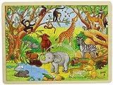 Goki Frame Jigsaw Puzzle Africa (48 Pieces)