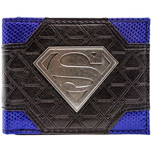 DC Comics Superman Logo Multicolore Portefeuille