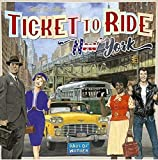 Asmodee Italia Ticket To Ride New York Gioco da Tavolo, Colore Azzurro, 720560 by Days Of Wonder