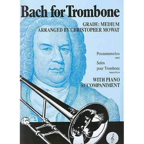 BACH - Album: For Trombone para Trombon (TC) y Piano (Mowat)