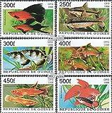 Prophila Collection Guinea 1887-1892 (kompl.Ausg.) 1998 Beliebte Aquarienfische (Briefmarken für Sammler)